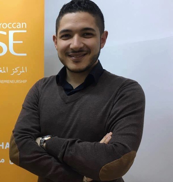 Ahmed Sebbata, Project Manager (in charge of Dare Incubation)